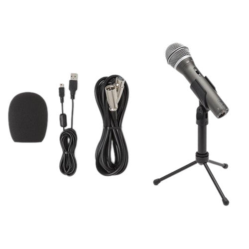 Samson Q2U USB-XLR Dynamic Microphone Recording Package
