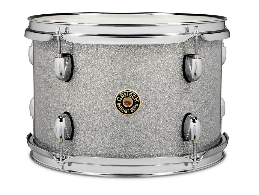 Gretsch CM1-0913T-SS Catalina Maple 9x13 Rack Tom Tom Drum - Silver Sparkle