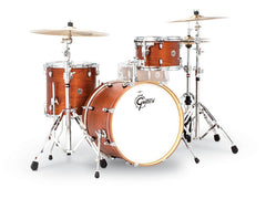 Gretsch CT1-J403-SWG Catalina Club 3 Piece Drum Set (20/12/14) - Satin Walnut Glaze