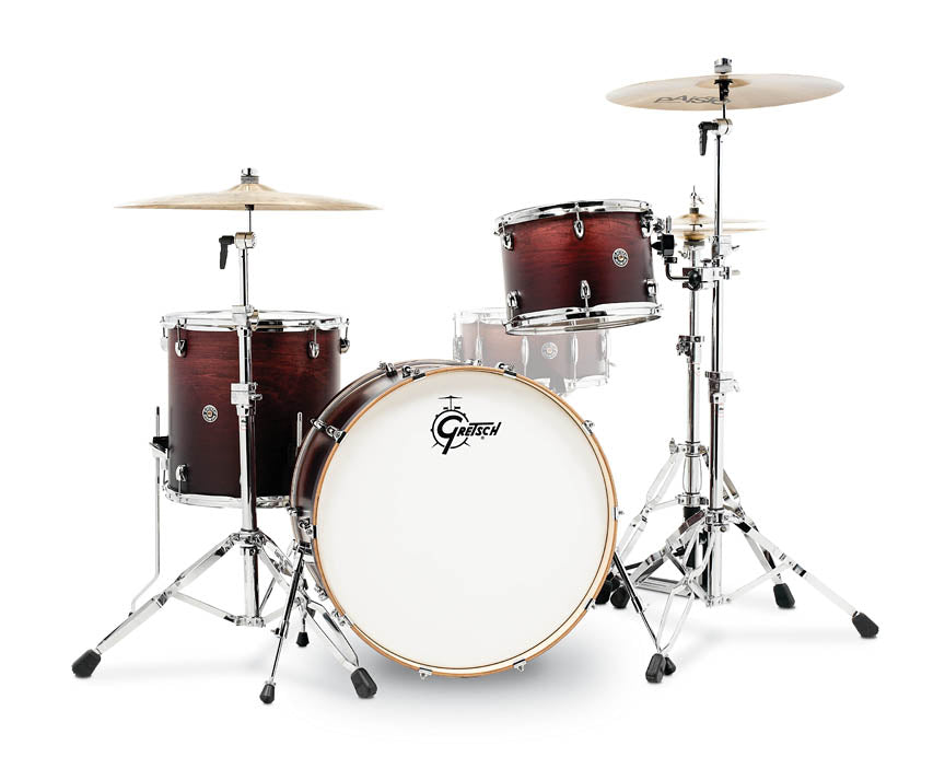 Gretsch CT1-R443C-SAF Catalina Club 3 Piece Shell Pack (24/13/16) - Satin Antique Fade