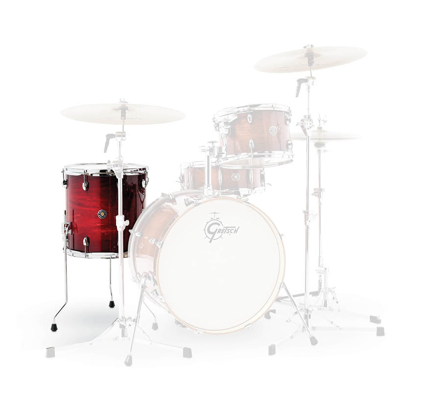 Gretsch CT1-1414F-GCB Catalina Club 14x14 Floor Tom Drum - Gloss Crimson Burst