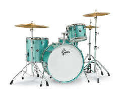 Gretsch RN2-R644-TS Renown 4-Piece Drum Set (13/16/24/14) - Turquoise Sparkle