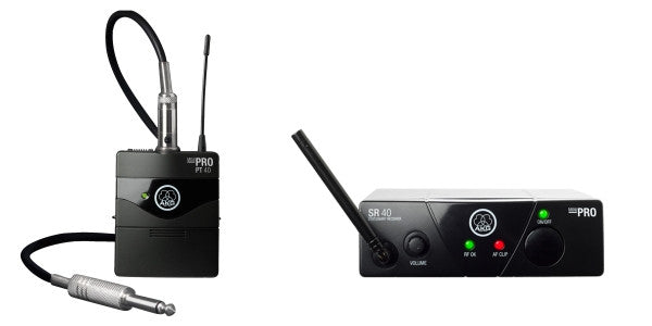 AKG WMS 40 Mini Wireless Instrument System (US 45 B, 661.100 MHz) - Audioride