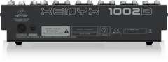 Behringer Xenyx 1002B Premium 10-Input 2-Bus Mixer with Xenyx Preamps British EQs and Optional Battery Operation