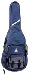 Boulder CB-362BL Alpine Deluxe Classical-Resophonic Guitar Gig Bag - Navy Blue