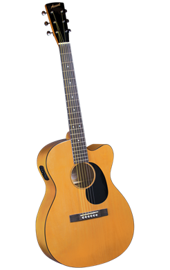 Accent CS-2CE Acoustic-Electric Cutaway Folk Guitar