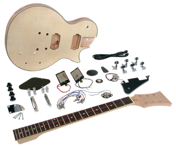 Saga LC-10 Deluxe Electric Guitar Kit - Single Cutaway