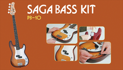 Saga PB-10 Electric Bass Kit - P Style