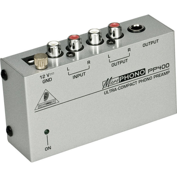 Behringer PP400 Ultra-Compact Microphono Preamplifier