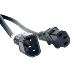 American DJ ECCOM-3 IEC Male to Female AC Extension 3 ft Cable - Audioride