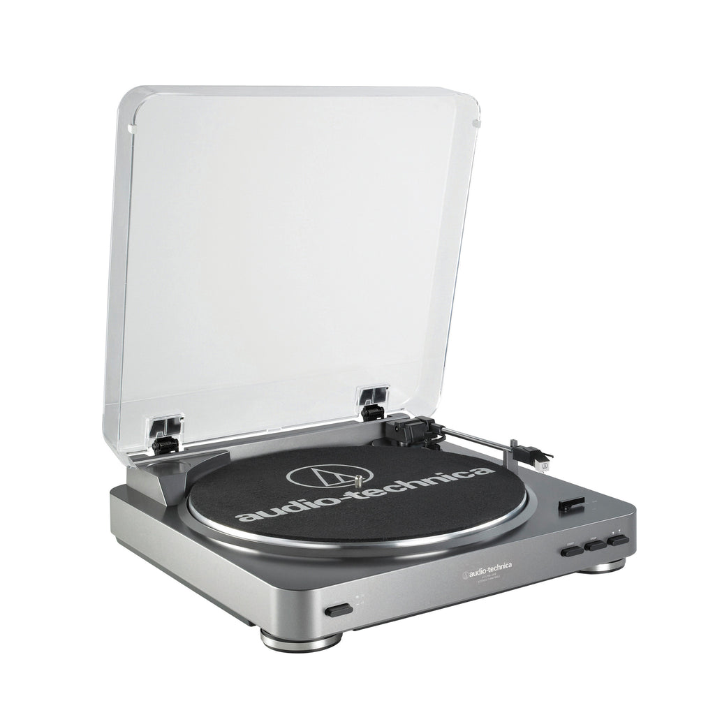 Audio-Technica AT-LP60-USB Fully Automatic Belt-Drive Stereo Turntable (USB & Analog) - Audioride