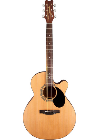 Jasmine S34C Cutaway Acoustic Guitar  Natural