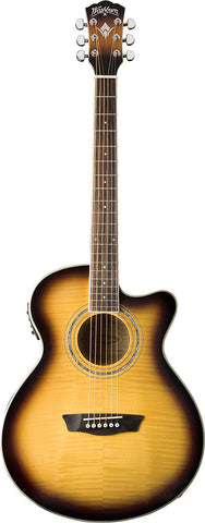 Washburn EA15ATB Festival Series Acoustic Eletric Guitar