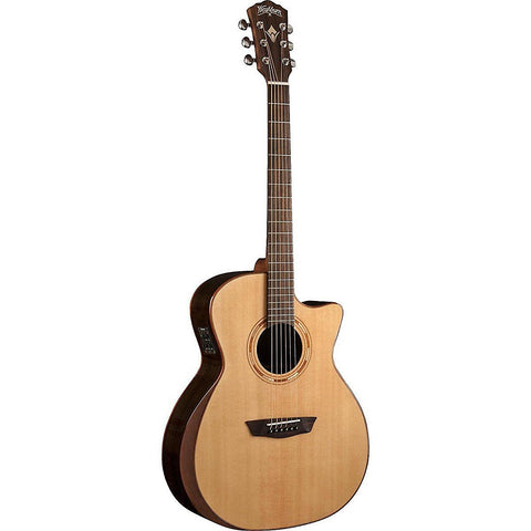 Washburn Comfort Series WCG20SCE Acoustic-Electric Guitar  Natural