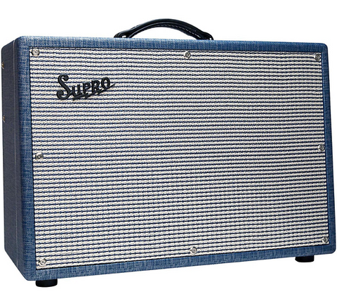 Supro 1650RT Royal Reverb 35W 2x10 Tube Guitar Combo Amp