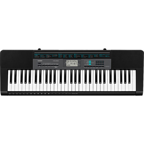 Casio CTK-2550 61-Key Keyboard (With Power Supply)