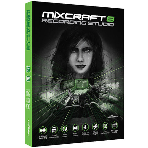 Mixcraft® Recording Studio - Music Production Software (Boxed)