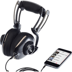 Blue 0359 Mix-Fi Powered High-Fidelity Headphones with Built-In Amplifier - Black