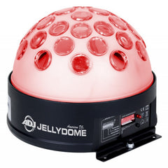 American DJ JellyDome 10W 4-in-1 RGBW  (Red, Green, Blue & White) Quad LED Effect Light - Audioride