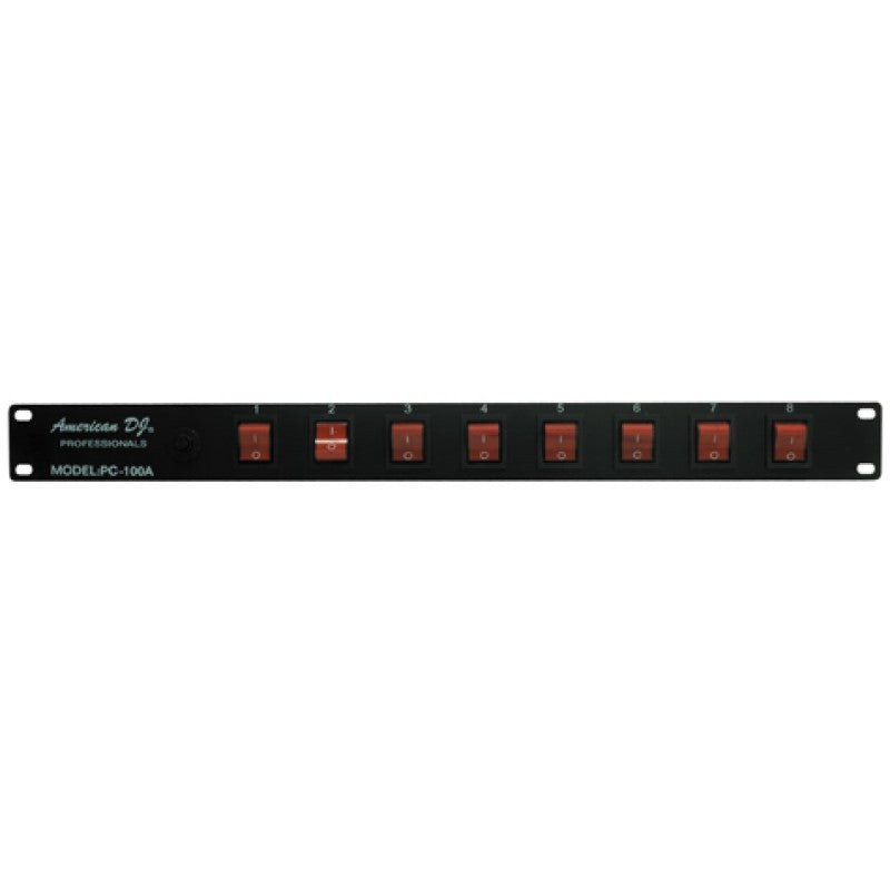 American DJ PC-100A 8-Switch ON/OFF Power Center - Audioride
