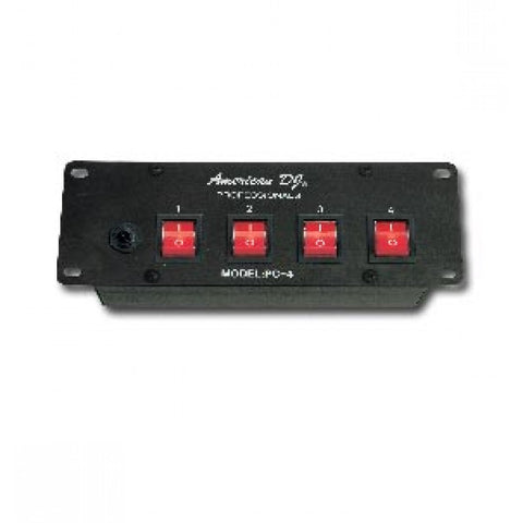 American DJ PC-4 4 Channel A/C Power Center