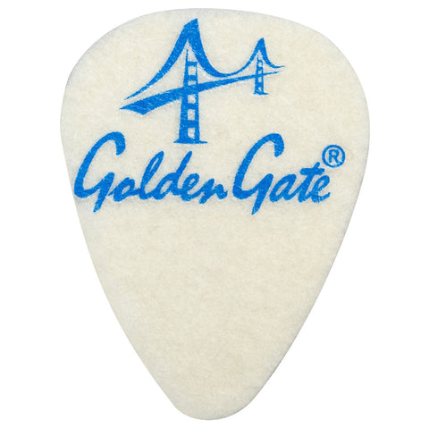 Golden Gate FP-1 Ukulele Felt Picks - 3 Pack