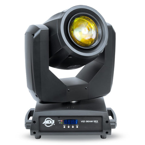 American DJ Vizi Beam 5RX Moving Head Fixture Features The Revolutionary Philips Platinum 5R Lamp