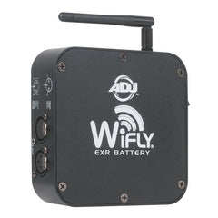 American DJ WIFLY EXR BATTERY Powered Wireless DMX Transceiver - Audioride