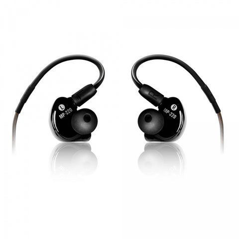 Mackie MP-220 Dual Dynamic Driver Professional In-Ear Monitors - Black