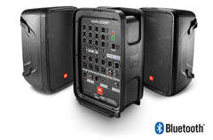 "JBL EON208P 300W Packaged 8"" 2-Way PA System With Powered 8-Channel Mixer and Bluetooth®"