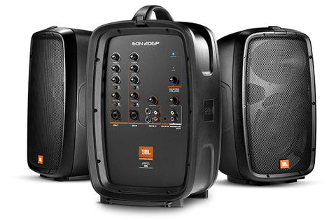 "JBL EON206P Portable 6.5"" Two-WaySystem With Detachable Powered Mixer"