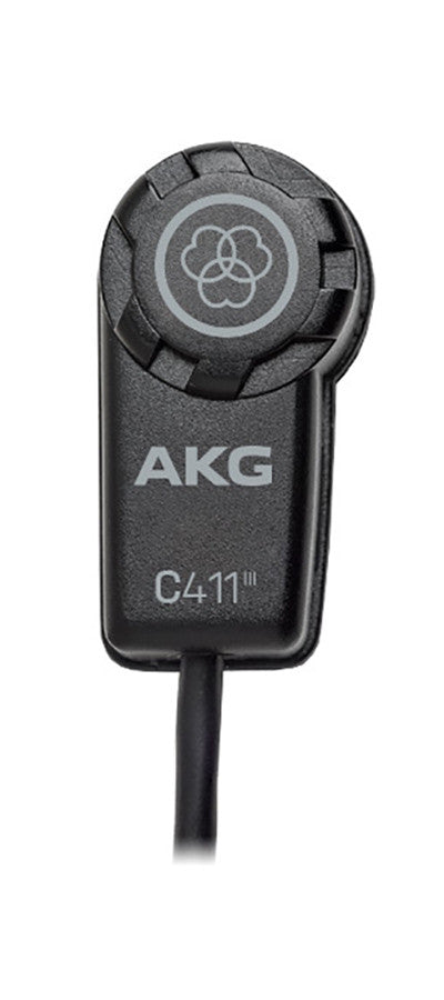 AKG Pro Audio C411/PP Vibration Pickup for Acoustic Guitar & Other Stringed Instruments - Audioride