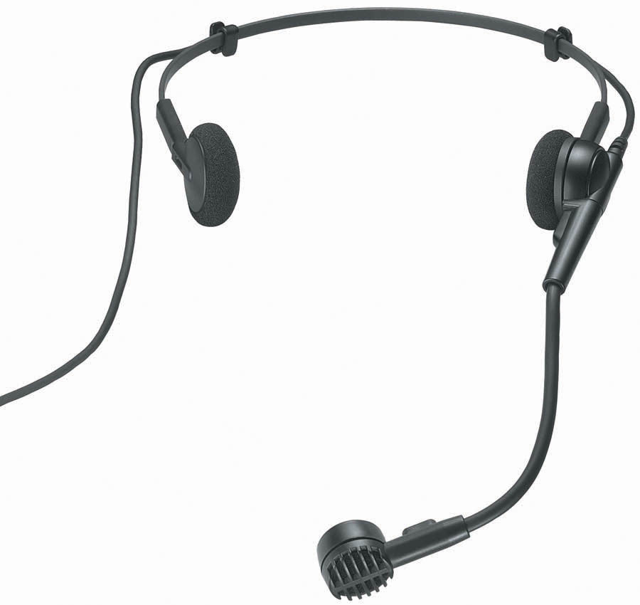 Audio-Technica PRO8HEX Hyper-Cardioid Headworn Dynamic Microphone with XLR Connector - Audioride