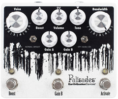 EarthQuaker EQDPAL2 Palisades V2 Devices Overdrive Effects Pedal