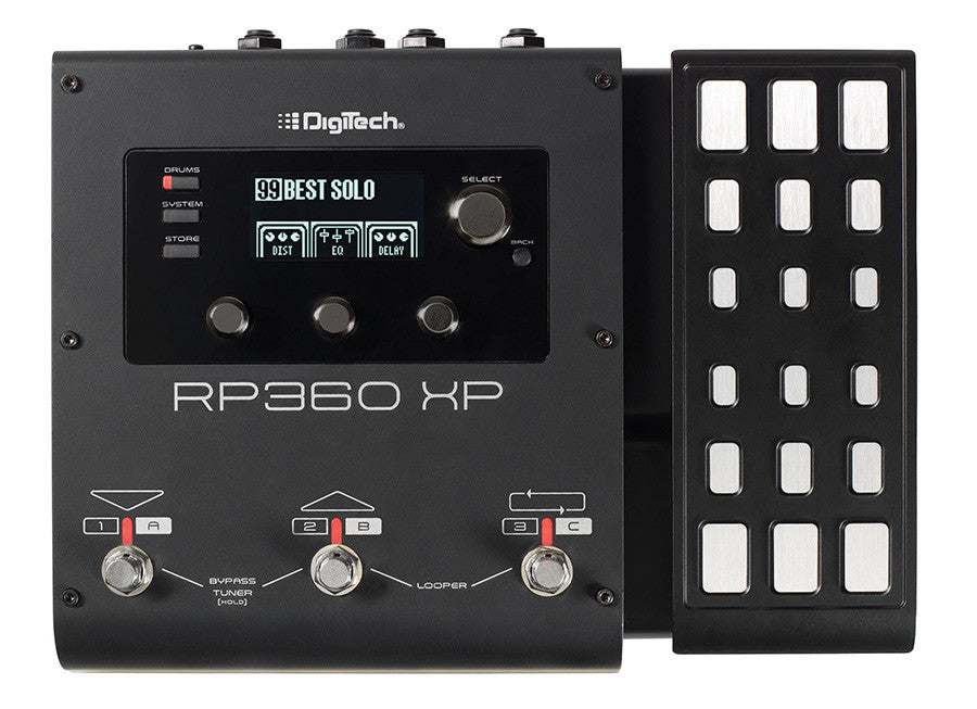 DigiTech RP360XP Guitar Multi-Effects Pedal  - Audioride