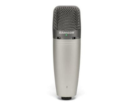 Samson C03UCW - Variable Pattern Large Diaphragm USB Studio Condenser Microphone
