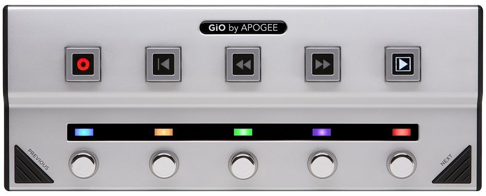Apogee GiO Guitar Interface and Controller for Mac - Audioride