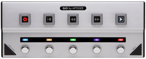 Apogee GiO Guitar Interface and Controller for Mac