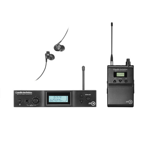 Audio-Technica M3L Advanced Wireless In-ear Monitoring System