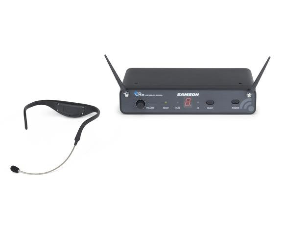 Samson AirLine 88 SWC88AH8-D Headset UHF Wireless System (Channel D, 470-494 MHz)