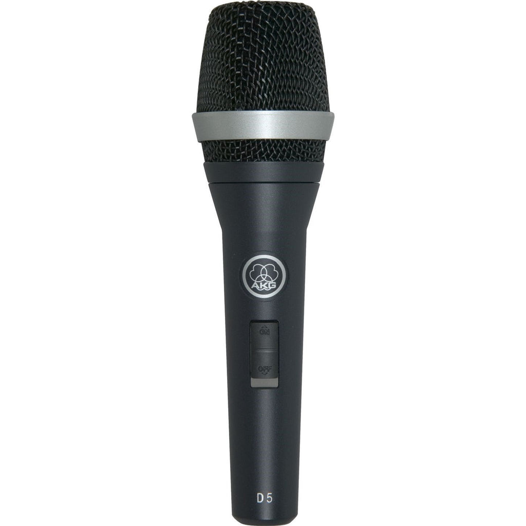 AKG D5S Professional Dynamic Stage Vocal Microphone - Audioride