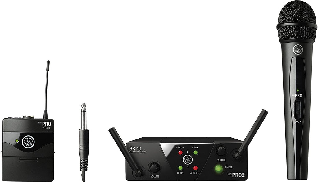 AKG Pro Audio MINI2MIX-US25CD Wireless Microphone System - Audioride