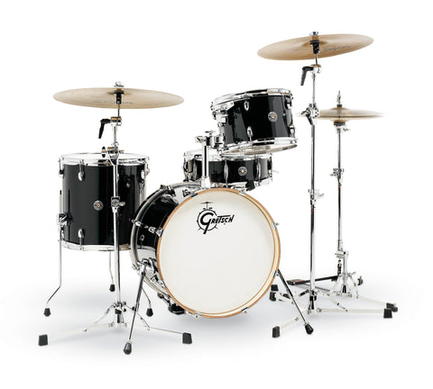 Gretsch Piano Black Catalina Club 4 Piece Shell Pack