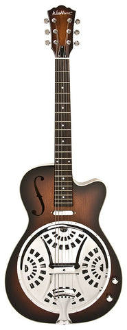 Washburn USM-R15RCE Resonator Acoustic-Electric Guitar  Tobacco Sunburst