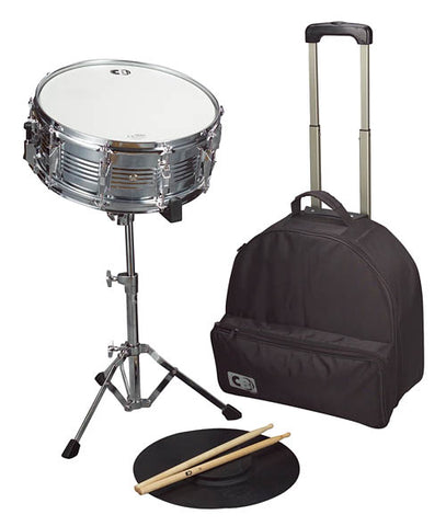 CB Percussion IS678TR Deluxe Snare Drum Kit with Traveler Bag