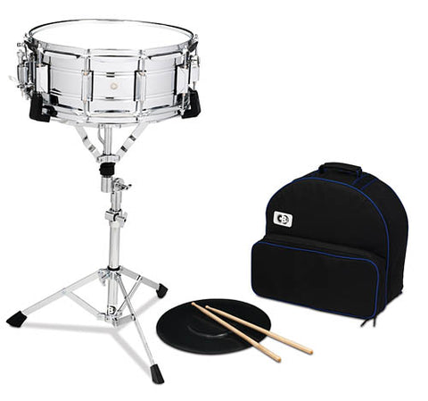 CB Percussion IS678BP Snare Drum Kit with Deluxe Backpack