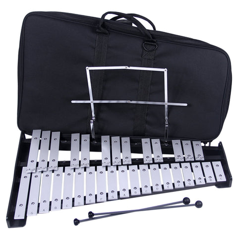 Percussion Plus BL32 32 Note Bell Set with Bag Xylophone Set with Bag & Mallets