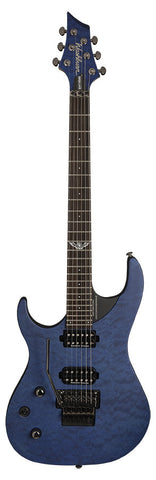 Washburn Parallaxe Series PXM10FRQTBLMLH PXM Double Cutaway Left Hand Electric Guitar