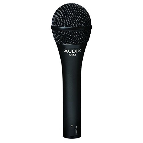 Audix OM3 Hypercardioid Live Dynamic Vocal Microphone