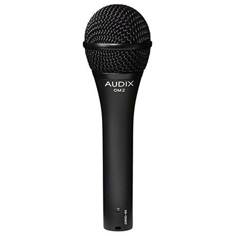 Audix OM2 All Purpose Professional Dynamic Vocal Microphone with Clamp